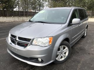 Used 2016 Dodge Grand Caravan Crew FWD for sale in Cayuga, ON