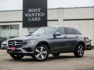 Used 2017 Mercedes-Benz GLC 300 4MATIC|NAVIGATION|BLIND|PANO SUNROOF|CAMERA|LEATHER for sale in Kitchener, ON