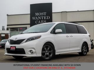 Used 2015 Toyota Sienna SE Premium|8-Passenger|V6|NAVIGATION|LEATHER|ROOF for sale in Kitchener, ON