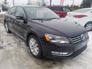 Used 2013 Volkswagen Passat Highline diesel for sale in Mascouche, QC