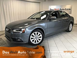 Used 2014 Audi A4 2.0 Komfort, Cuir, Toit, Automatique for sale in Sherbrooke, QC