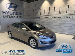 Used 2015 Hyundai Elantra GL+A/C+BANCS CHAUFF+BLUETOOTH+CRUISE for sale in Sherbrooke, QC