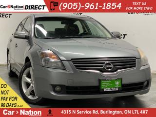 Used 2008 Nissan Altima SE| AS-TRADED| SUNROOF| HEATED SEATS| for sale in Burlington, ON