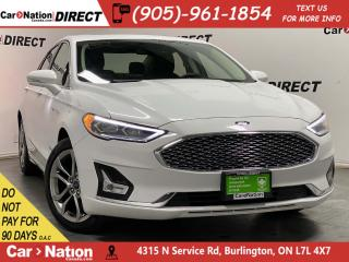 Used 2019 Ford Fusion Hybrid Titanium| LEATHER| SUNROOF| NAVI| for sale in Burlington, ON