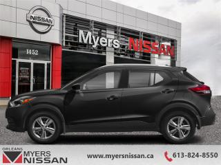 New 2019 Nissan Kicks SV FWD  -  Alloy Wheels -  Fog Lights - $162 B/W for sale in Orleans, ON