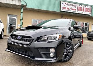 Used 2017 Subaru WRX Sport SPORT||CERTIFIED||REVERSE CAMERA!! for sale in Bolton, ON