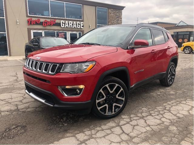 2018 Jeep Compass Limited | Leather | Sunroof | 4WD | Navigation