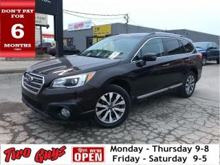 Used 2017 Subaru Outback Touring | Brown Leather |Nav | Sunroof | Pwr Hatch for sale in St Catharines, ON