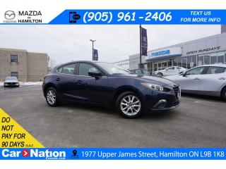 Used 2016 Mazda MAZDA3 GS | 6 SPEED | REAR CAM | HEATED SEATS | BLUETOOTH for sale in Hamilton, ON