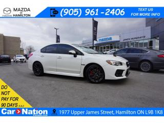 Used 2019 Subaru WRX RS TECH | SUNROOF | LEATHERETTE | AWD | 6 SPEED for sale in Hamilton, ON
