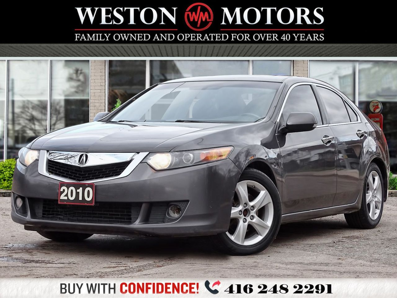 2010 Acura TSX SUNROOF*LEATHER*BLUETOOTH*CERTIFIED!