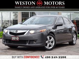Used 2010 Acura TSX AWD*SUNROOF*LEATHER*BTOOTH*LOCAL TRADE*CERTIFIED! for sale in Toronto, ON