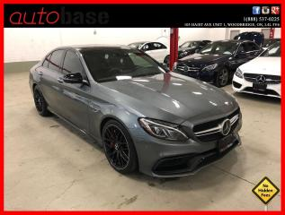 Used 2017 Mercedes-Benz C-Class C63 S AMG NIGHT PKG PERFORMANCE SEATS HUD DISTRONIC for sale in Vaughan, ON