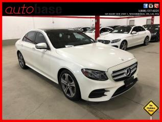 Used 2017 Mercedes-Benz E-Class E300 4MATIC HUD PREMIUM TECHNOLOGY AMG REAR SUNSHADE E 300 for sale in Vaughan, ON