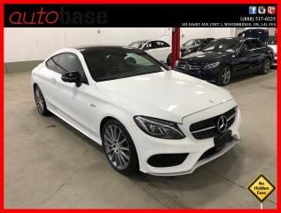 Used 2017 Mercedes-Benz C-Class C43 AMG 4MATIC COUPE AMG DRIVERS PREMIUM 360 CAM ACTIVE LED for sale in Vaughan, ON