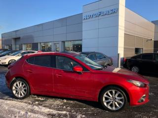Used 2015 Mazda MAZDA3 GT *Heads-Up Display *Toit-Ouvrant *Cuir *GPS/Cam for sale in St-Hubert, QC