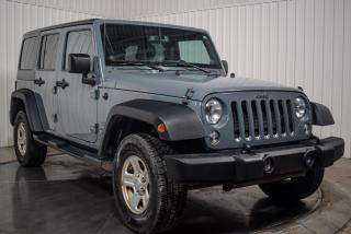 Used 2014 Jeep Wrangler UNLIMITED SPORT A/C for sale in St-Hubert, QC