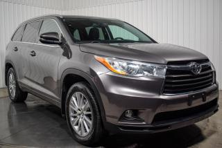 Used 2016 Toyota Highlander XLE AWD CUIR TOIT NAV MAGS for sale in St-Hubert, QC