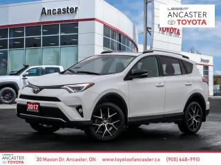 Used 2017 Toyota RAV4 SE - 1 OWNER|NO ACCIDENTS|NAVI|BLUETOOTH|BACKUP CAMERA for sale in Ancaster, ON