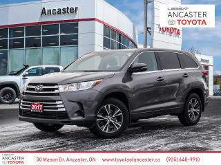 Used 2017 Toyota Highlander LE - LANE DEPARTURE|REAR AIR|BLUETOOTH|CAMERA for sale in Ancaster, ON