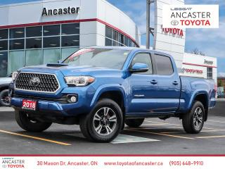 Used 2018 Toyota Tacoma TRD SPORT 4X4 - NAVI|HEATED SEATS|CAMERA|BLUETOOTH for sale in Ancaster, ON