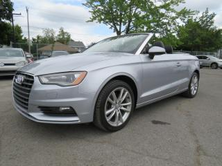Used 2015 Audi A3 Cabriolet Quattro 2.0T CUIR MAGS 67,000KM for sale in St-Eustache, QC