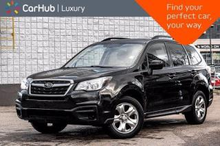 Used 2017 Subaru Forester 2.5i AWD Heated Front Seats Satellite Radio Ready Bluetooth Keyless Entry for sale in Thornhill, ON