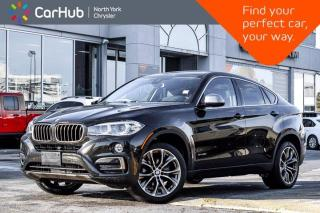 Used 2017 BMW X6 xDrive35i Nav Sunroof HK Sound HeadsUp Display Heated Seats Blind Spot for sale in Thornhill, ON