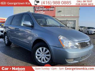 Used 2011 Kia Sedona LX CAPTAIN SEATS| REAR PWR WINDOWS| STOW N GO for sale in Georgetown, ON