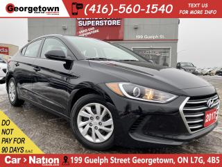 Used 2017 Hyundai Elantra LE | BLUE TOOTH | AUTO | CRUISE | POWER GROUP for sale in Georgetown, ON