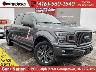 Used 2018 Ford F-150 Lariat 4WD | NAVI | RED INT | BU CAM | PANO ROOF for sale in Georgetown, ON