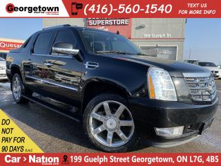 Used 2013 Cadillac Escalade EXT AWD | SUNROOF | NAVI | BACK UP CAM | DVD | 6.2L V8 for sale in Georgetown, ON