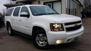 Used 2013 Chevrolet Suburban LT 4WD - LEATHER! BACK-UP CAM! 8 PASS! ACCIDENT FREE! for sale in Kitchener, ON