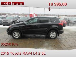 Used 2015 Toyota RAV4 AWD LE for sale in Rouyn-Noranda, QC