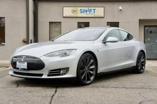 Used 2015 Tesla Model S P85D AUTOPILOT, SUB ZERO, HIFI SOUND, LOADED, CPO WARRANTY! for sale in Burlington, ON