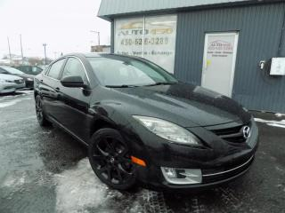 Used 2010 Mazda MAZDA6 ***GT,AUTOMATIQUE,CUIR,TOIT,CLEAN CARPRO for sale in Longueuil, QC