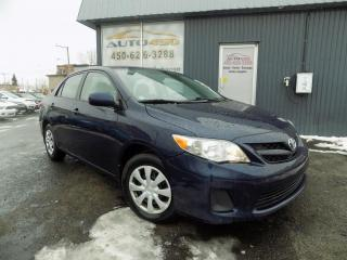 Used 2012 Toyota Corolla ***CE,AUTOMATIQUE,A/C,BLUETOOTH*** for sale in Longueuil, QC