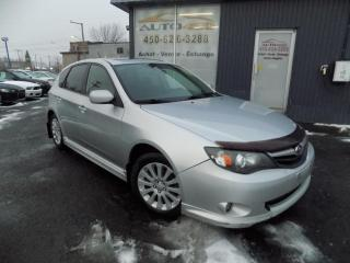 Used 2010 Subaru Impreza ***2.5i,SPORT,AWD,4X4,TOIT OUVRANT,A/C,M for sale in Longueuil, QC
