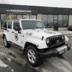 Used 2013 Jeep Wrangler UNLIMITED SAHARA 4X4 **DEUX TOITS** for sale in St-Hubert, QC
