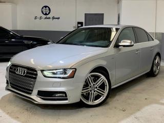 Used 2013 Audi S4 PREMIUM|NAV|BLIND SPOT|ACCIDENT FREE|BACK UP for sale in Oakville, ON