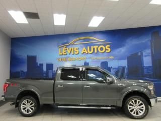 Used 2016 Ford F-150 LARIAT FX4 TOIT PANO CUIR NOIR CHAUFFANT for sale in Lévis, QC