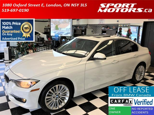 2015 BMW 3 Series 320i xDrive+Leather+Roof+New Brakes+Accident Free