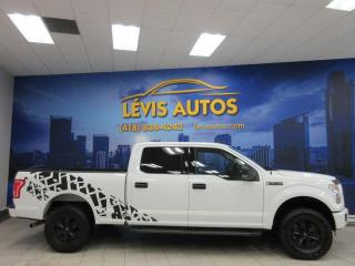 Used 2017 Ford F-150 XLT SUPERCREW CAB V8 4X4 BEAU LOOK CAMER for sale in Lévis, QC