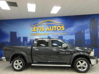 Used 2011 RAM 1500 SLT BIG-HORN CREW-CAB V8 5.7L 4X4 TRES B for sale in Lévis, QC