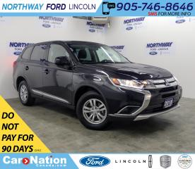 Used 2018 Mitsubishi Outlander ES | AWD | HTD SEATS | BACKUP CAM | BLUETOOTH | for sale in Brantford, ON
