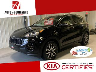 Used 2017 Kia Sportage EX TECH CUIR BRUN GPS + EQUIPE SPORTAGE for sale in Notre-Dame-des-Pins, QC