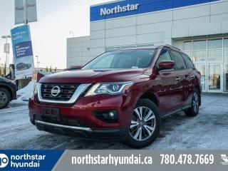 Used 2019 Nissan Pathfinder SL AWD//LEATHER/SUNROOF/NAV/7PASS for sale in Edmonton, AB