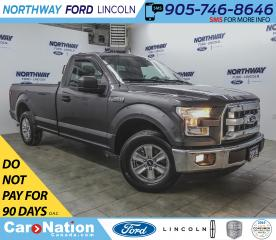 Used 2016 Ford F-150 XLT | 3.5L V6 | RWD | KEYLESS ENTRY | BACK RACK | for sale in Brantford, ON