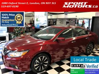 Used 2018 Nissan Altima 2.5 SV+Blind Spot+Emergency Brake+Roof+Camera for sale in London, ON