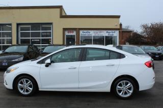 Used 2017 Chevrolet Cruze LT Sunroof Alloy for sale in Brampton, ON